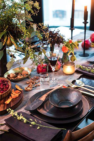 Christmas table setting | breadonbutter