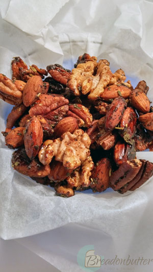 caramelized nuts | breadonbutter