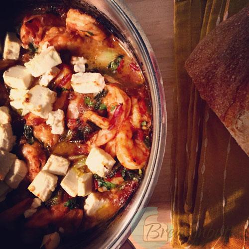 shrimps casserole | breadonbutter