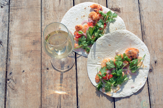 shrimp tortillas | breadonbutter