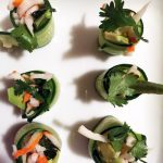 vegetable and crab maki rolls | breadonbutter