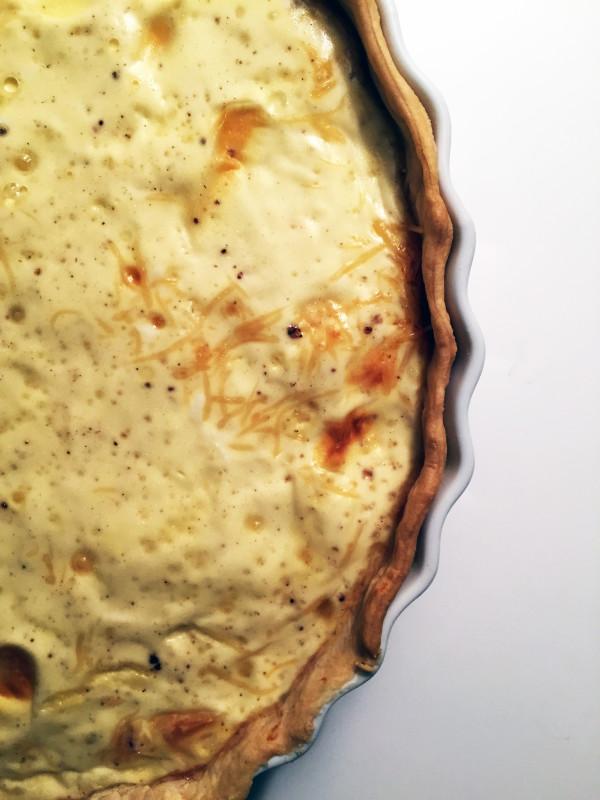 easy quiche lorraine | breadonbutter