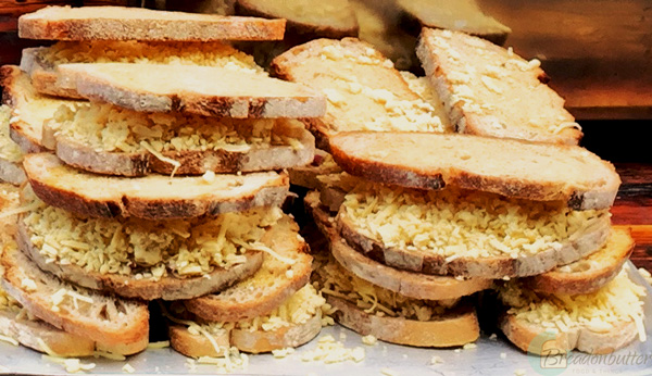 cheese on toast | breadonbutter