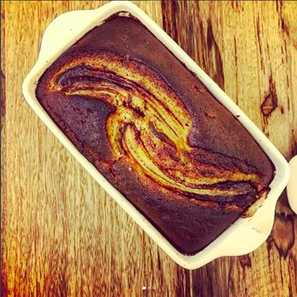 healthy banana cake | breadonbutter