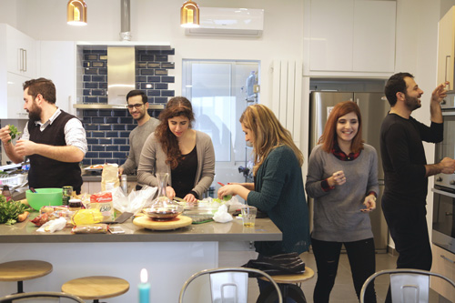cooking in group | breadonbutter