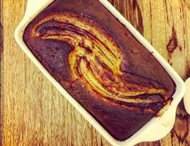 healthy banana cake   breadonbutter