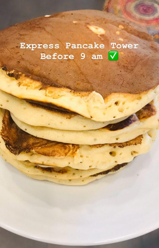 simple pancake recipe | breadonbutter